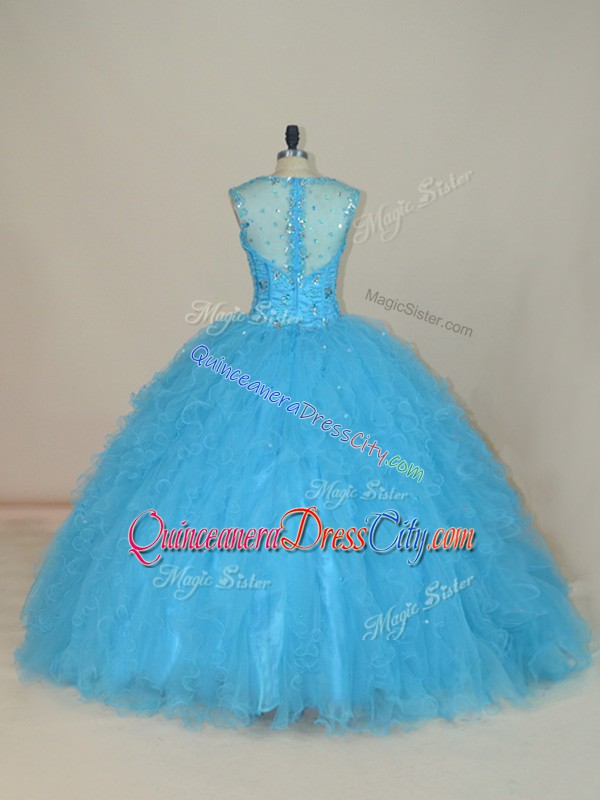 custom quinceanera dress in houston,customize your quinceanera dress,how much does it cost to customize your quinceanera dress,blue turquoise quinceanera dress,turquoise quinceanera dress with diamonds,sheer top quinceanera dress,see through back quinceanera dress,rhinestone quinceanera dress,tulle skirt quinceanera dress,big pretty quinceanera dress,the biggest quinceanera dress,